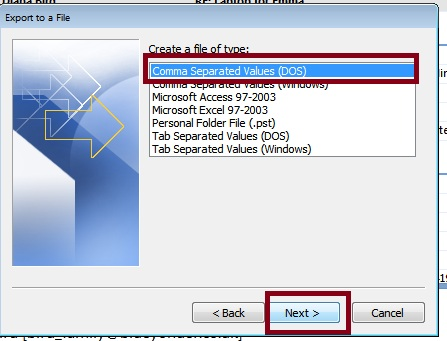 How to Export Outlook Address Book